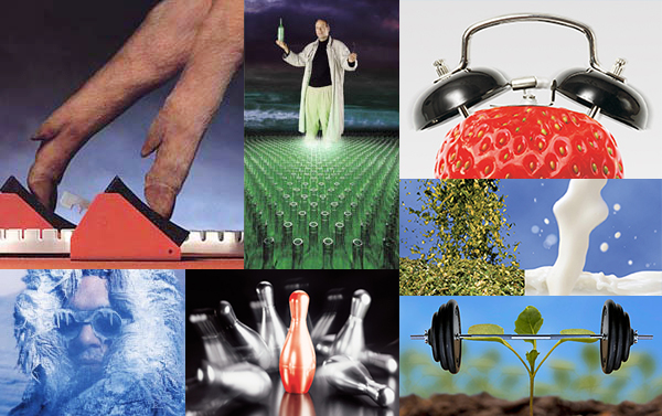 Selection of images © John Prior, Bayer CropScience, Air Products, Red Bus, Hoechst animal health